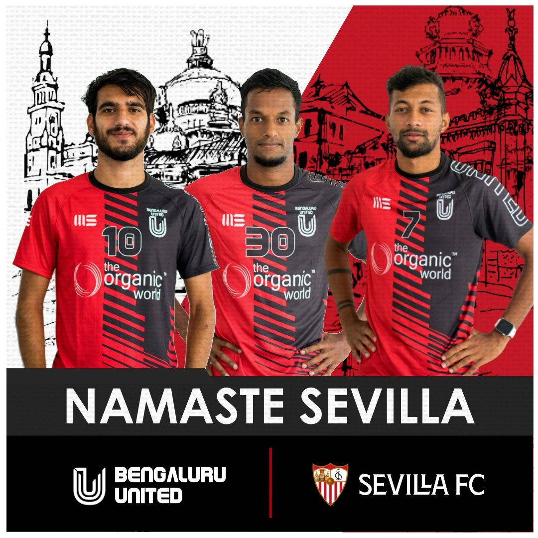 🔴⚫ *OFFICIAL PARTNERSHIP*🔴⚫ *FC Bengaluru United x Sevilla FC*  FC Bengaluru United and @SevillaFC have entered into a historic partnership agreement  Stay tuned for more information 🔥  #FCBUSFC #FCBU #SEVILLAFC #NuncaTeRindas