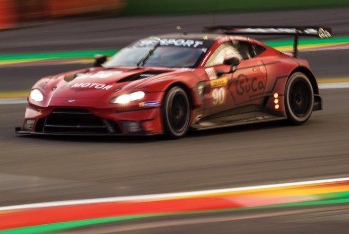 Take it as red. #AstonMartin…