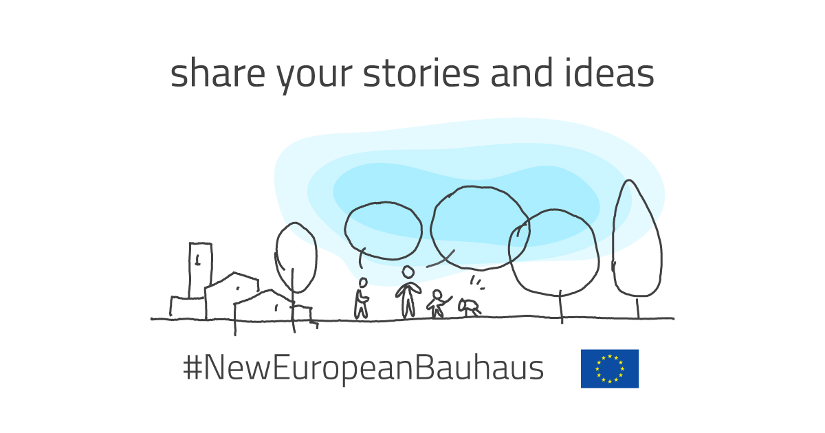 Be part of the #NewEuropeanBauhaus!  📣 We call on designers, architects, engineers, scientists, students, entrepreneurs and creative minds to reimagine sustainable living in Europe and beyond.  More here:   #EUGreenDeal #EuropeForCulture #StrongerTogether