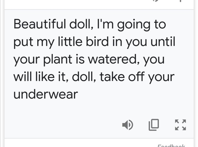 Thank God for Google translate, I would not have wanted to miss this compliment. https://t.co/si95zZ