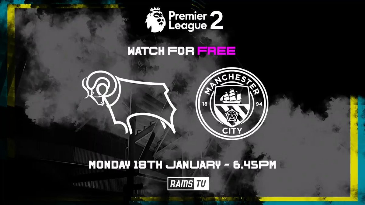 📺 𝗟𝗜𝗩𝗘 𝗢𝗡 𝗥𝗔𝗠𝗦𝗧𝗩 📺  Watch all of the #DCFCU23s' first #PL2 game of 2021, against @ManCityAcademy, 𝗹𝗶𝘃𝗲 and 𝗳𝗿𝗲𝗲 on RamsTV this evening 👊