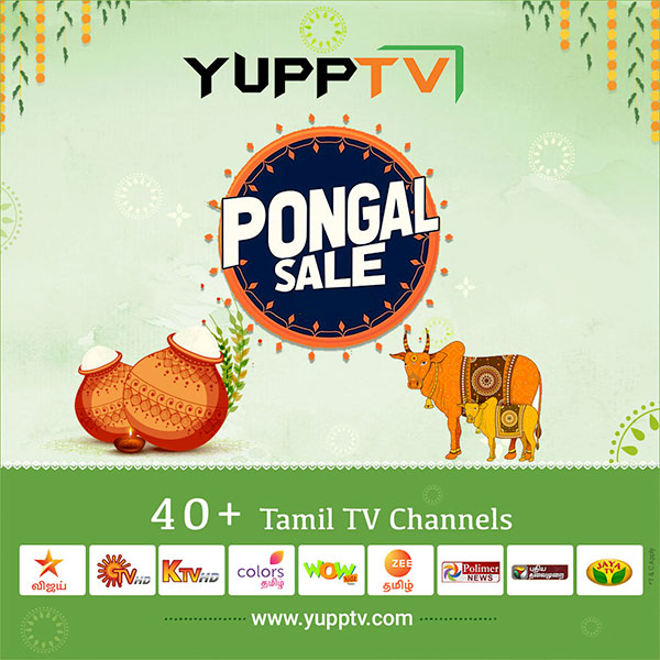 This Festive season, Bring home the best of Tamil Entertainment with @yupptv 's #Pongal offers.  Subscribe to yearly packages Now @