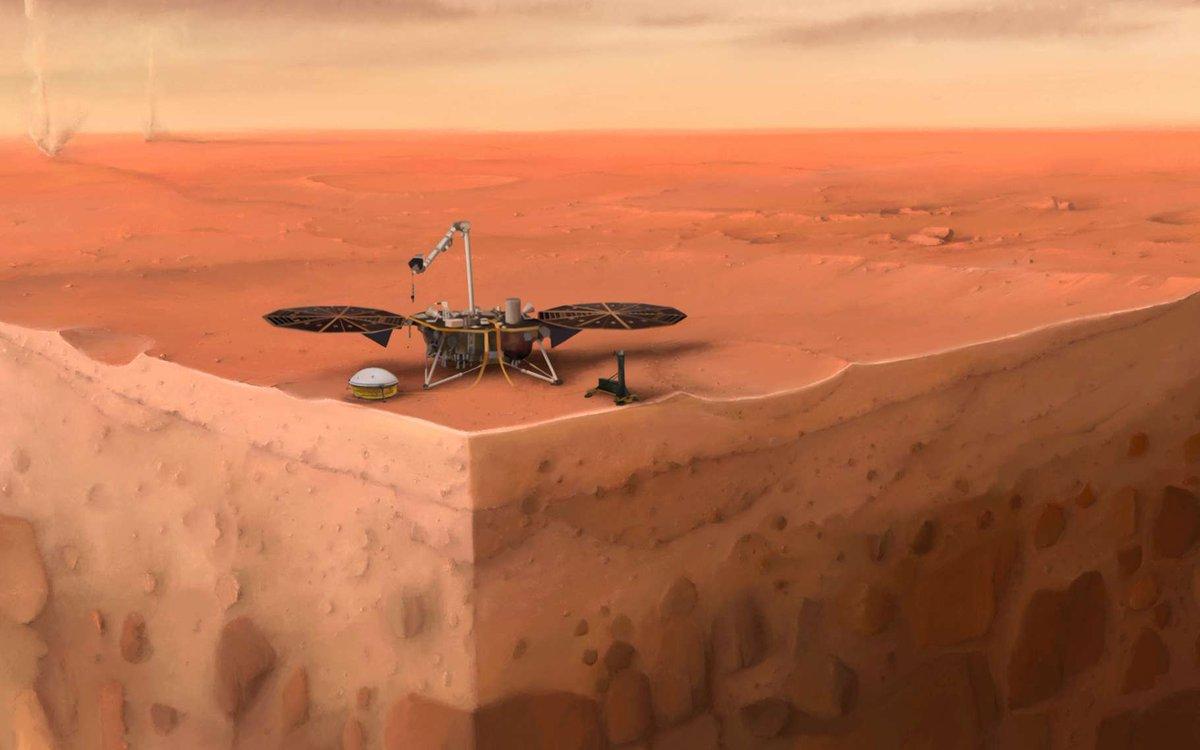 FRENCHNEWTECH Mars ne veut pas de la taupe d'InSight !  #science #innovation #futurasciences