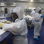 Image for the Tweet beginning: Russia's coronavirus death toll rises