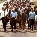 Imagen del comienzo del Tweet: Un hilo del Dr. King