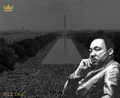 He has a dream.  Like all of us.  We want it for ourselves.  He wants it for his people.  #LiveYourDream #MLKDay