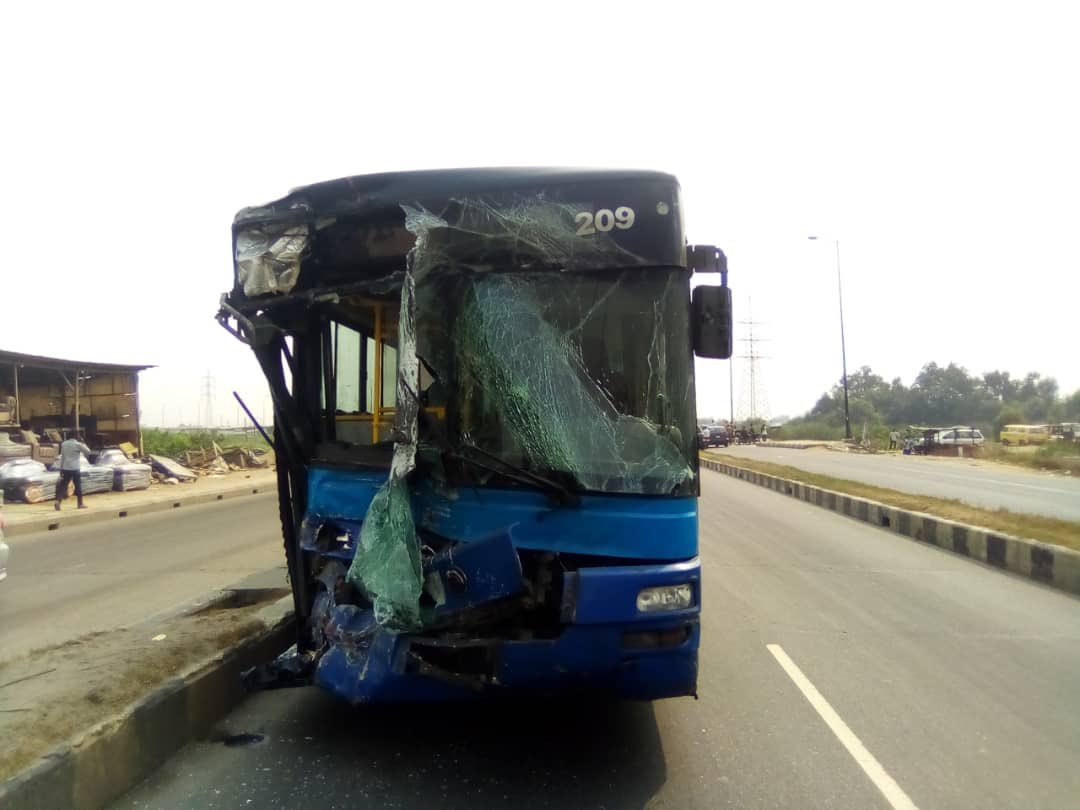 [11:30AM] @followlastma: [11:17AM] #Odo_Ogun #Ikorodu #Accident  Report of an accident involving a Red & Blue Primero HCB at Odo-Ogun on the BRT corridor. Effort is on to move the vehicles off the road.    @TrafficChiefNG #followlastma  #TrafficChief