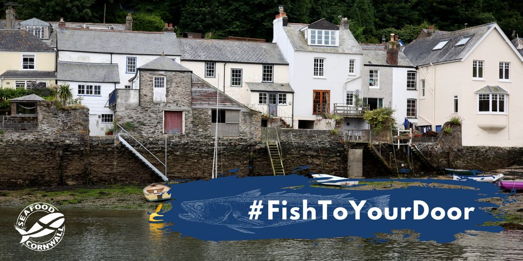 Wonderful to see how many of you have signed up to our #FishToYourDoor scheme & received delicious packages of #Cornish #seafood 🦀 🦐 🦑 🐟 lots of Cornish pilchards, mackerel, spider crabs, hake, monktails & more being caught by our #fishermen so we're happy it's being sold!