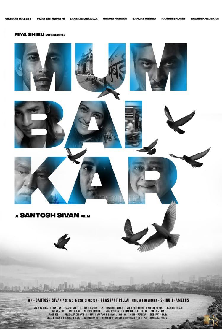 Dop/Director @santoshsivan and action director #ShamKaushal are filming action-thriller #Mumbaikar in #Mumbai.  @riyashibu_ presents.  Stars @masseysahib, #VijaySethupathi, @RanvirShorey, @imsanjaimishra & #TanyaManiktala.  Project designer: @shibuthameens Music: @iprashantpillai