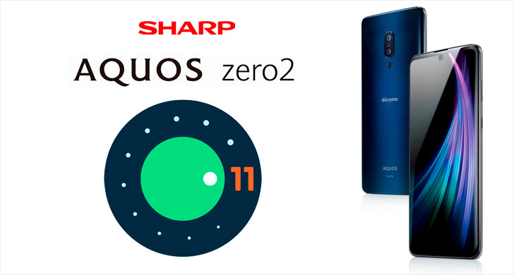 #Sharp AQUOS zero2 SH-01M обновился до Android 11   #aquoszero2 #android11 #upgrade