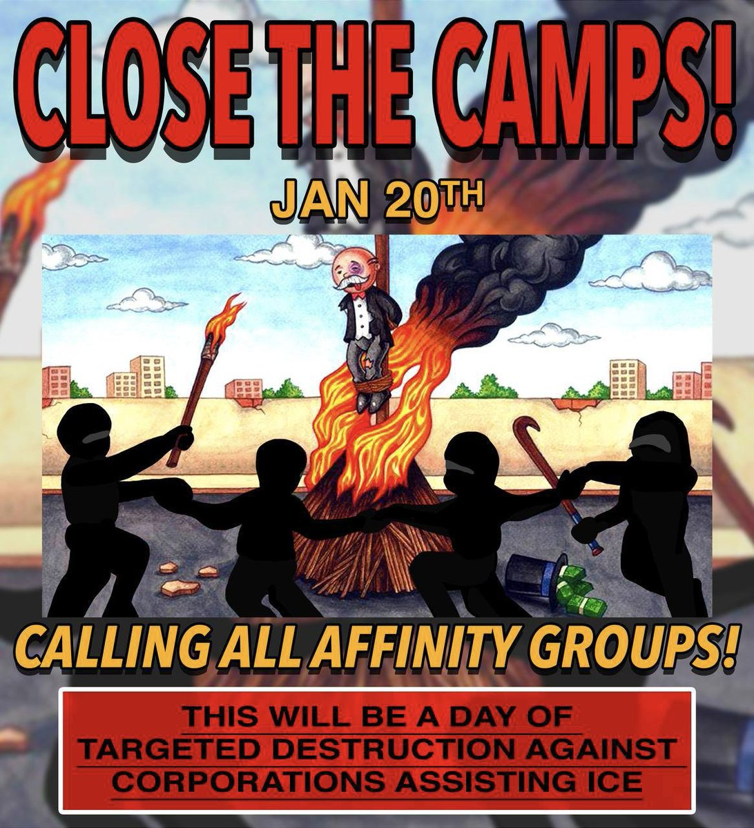 #Antifa are continuing to put out the call for riots throughout the U.S. on 20 Jan. These are some of their flyers for Seattle, northern California & Denver.