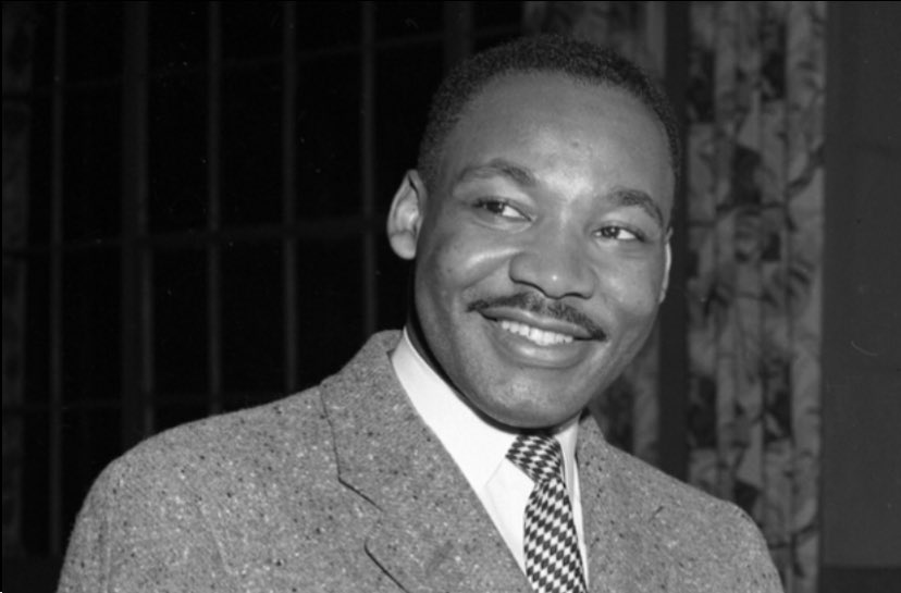 Martin Luther King Jr Day in the US. Though profoundly anchored in American history, his message of equality, justice and dignity for all is universal. And seeing what's happening south of the border, his philosophy of non-violence is more relevant than ever | #MLKDay