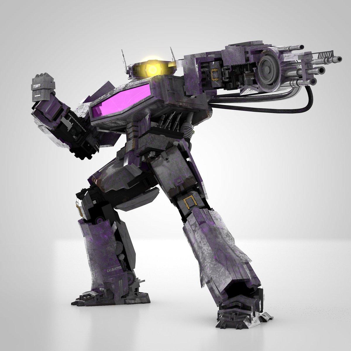 Shockwave version 2021 (probabily the last version). #optimusprime #transformers #autobots #bumblebeemovie #cinema4d #3dmodel #megatron #decepticons