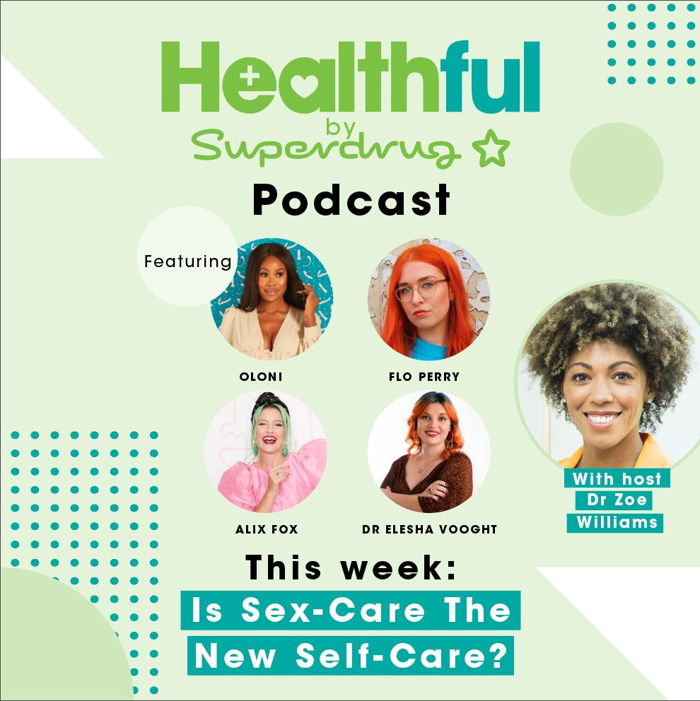 I was lucky enough to be on the superdrug podcast this week. Doing podcasts over zoom is now my main way of socialising with people that aren't my housemates, and this one felt like a party. https://t.co/x0wzbCvWBO https://t.co/XKqNh04ExN