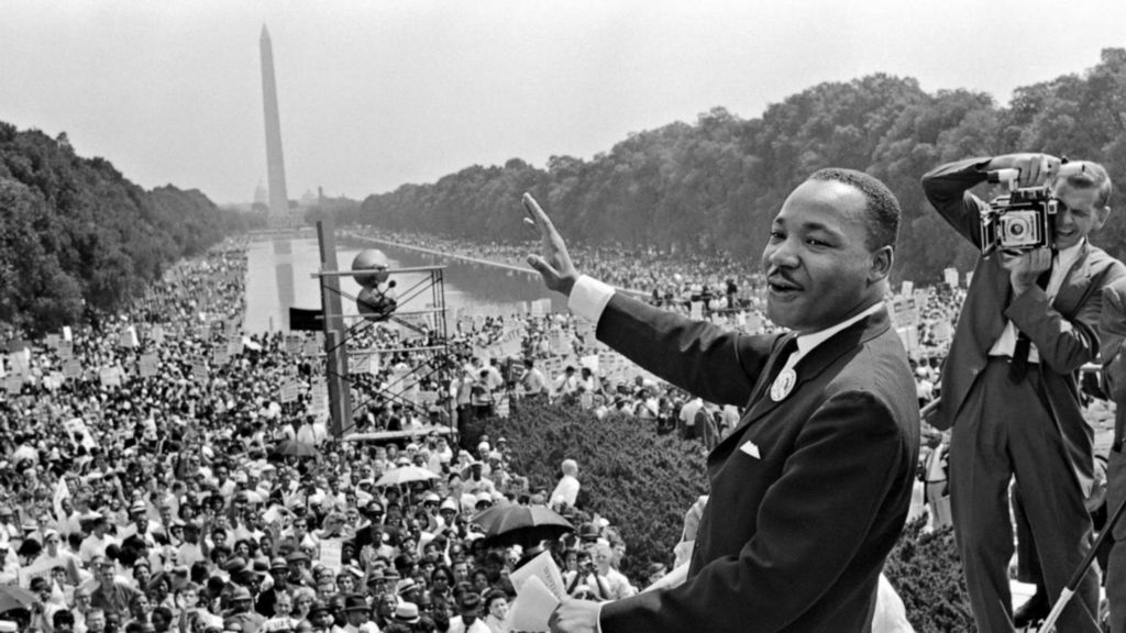 We may have all come on different ships, but now we're in the same boat now. #mlkday