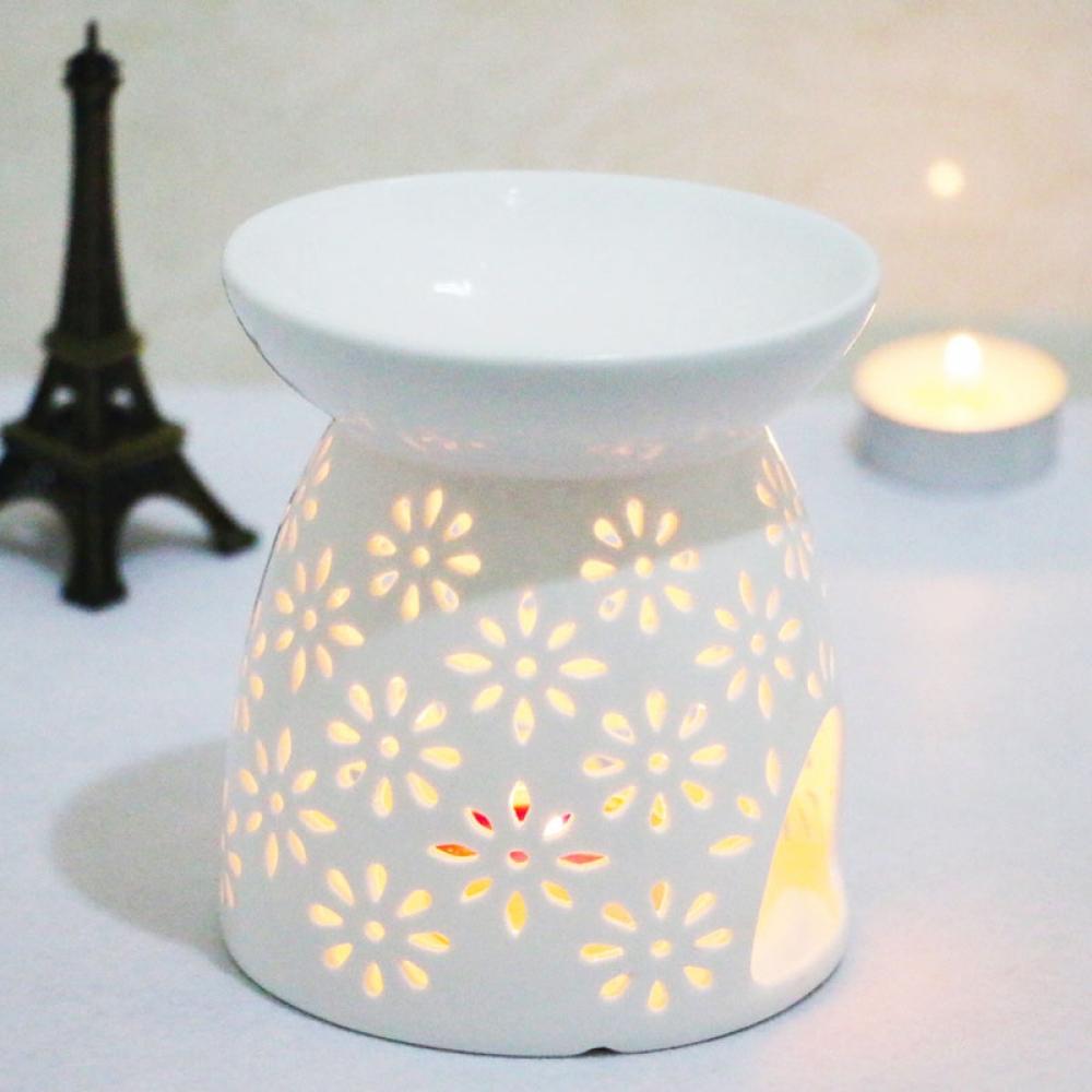 #win #winning Floral Lace Ceramic Aroma Lamp