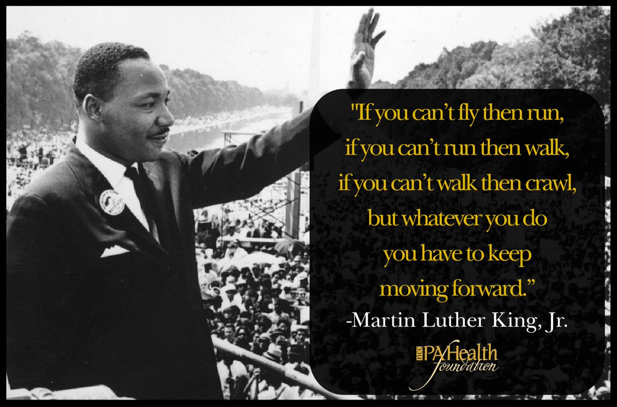 We are grateful for Dr. King whose words continue to inspire the world. This year, keep #MovingForward for your patients, family and community.   #MartinLutherKing #MLKDay #Legacy #BetheChange