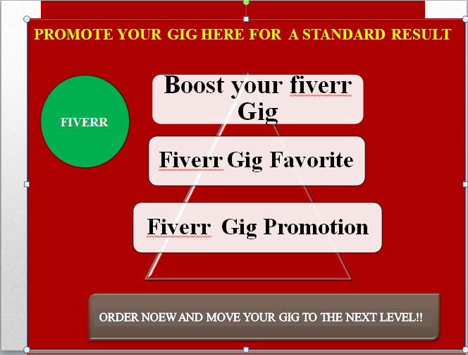 Check it out! MadeOnFiverr: I will promote your fiverr gig, boost your ranking, fiverr gig seo.   #fiverrgig  #gigseo #fiverrgigpromotion #fiverrgigs #AfterTrump #ProtectWayV #waytooearly #EpikHighIsHere