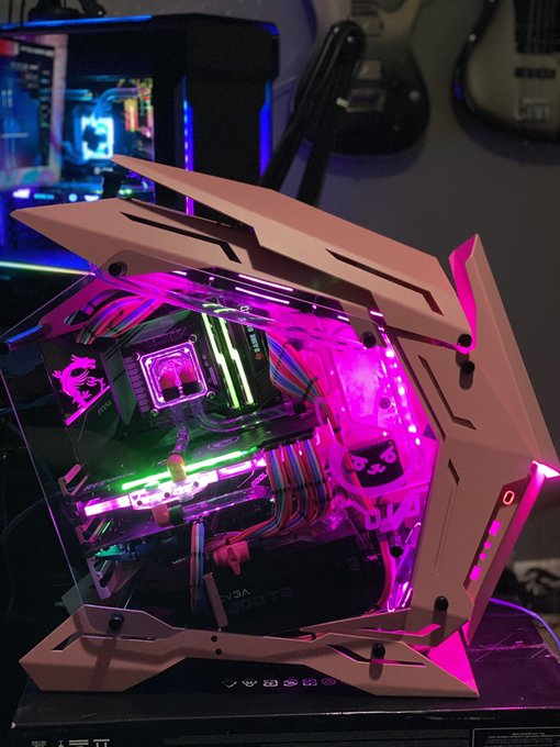 I never posted it before but this is my Gaming PC I had commissioned for my twitch stream dual PC channel