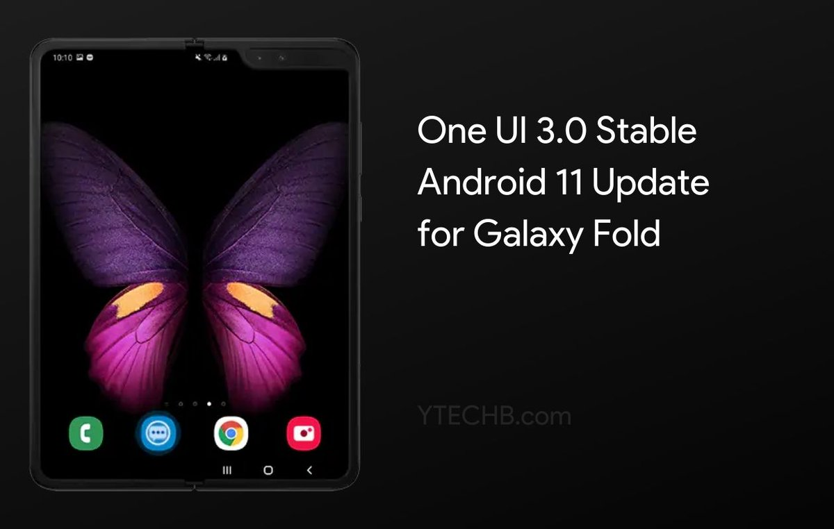Samsung released Android 11 Update for the Galaxy Fold!  More Details Here -   #Samsung #GalaxyFold #OneUI3 #Android11