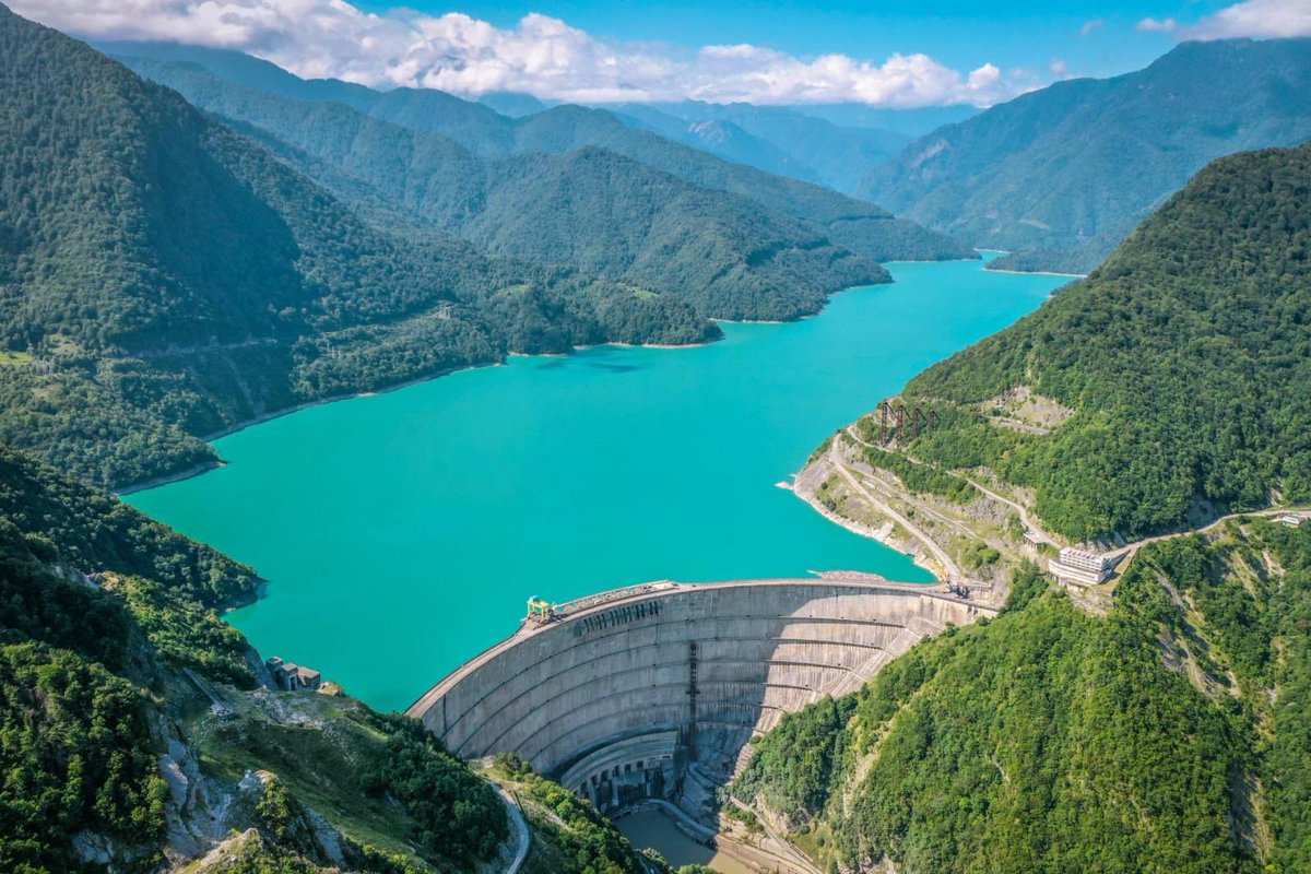 Starting January 20 the #Enguri hydro power plant (HPP), the largest electricity producer of #Georgia that supplies its Russian-occupied region of #Abkhazia, will be closed for repairs for three months.