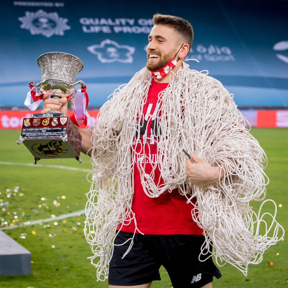 🏆🏆🏆 #Supercopa   𝗨𝗻𝗮𝗶 𝗦𝗶𝗺𝗼́𝗻 🔝  #DenonAmetsa 🔴⚪ #BiziAmetsa  #AthleticClub 🦁