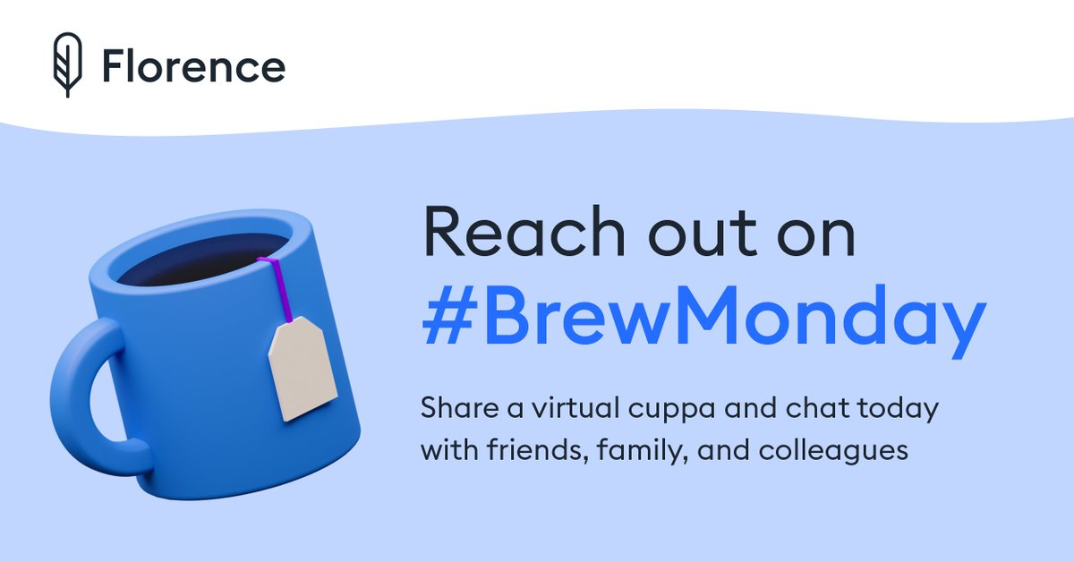 We are going to make this year's #BlueMonday a #BrewMonday! 🍵💙  We're supporting @samaritans by encouraging people to reach out to friends, family or colleagues for a virtual #cuppa and chat today.  Find out more   #mentalhealthawareness #timetotalk