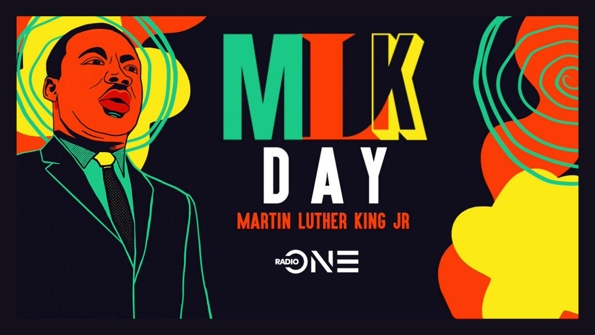 Happy Martin Luther King Jr. Day #MLKDay