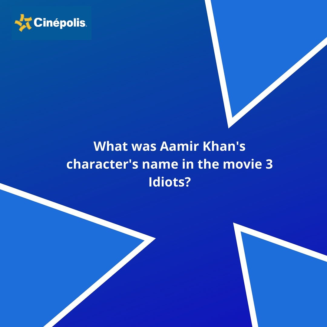 """""""Life is a race.. If you don't run fast, you will be like a broken unda.."""" So put down your answers now!  #QuizAlert #Cinepolis #CinepolisIndia"""