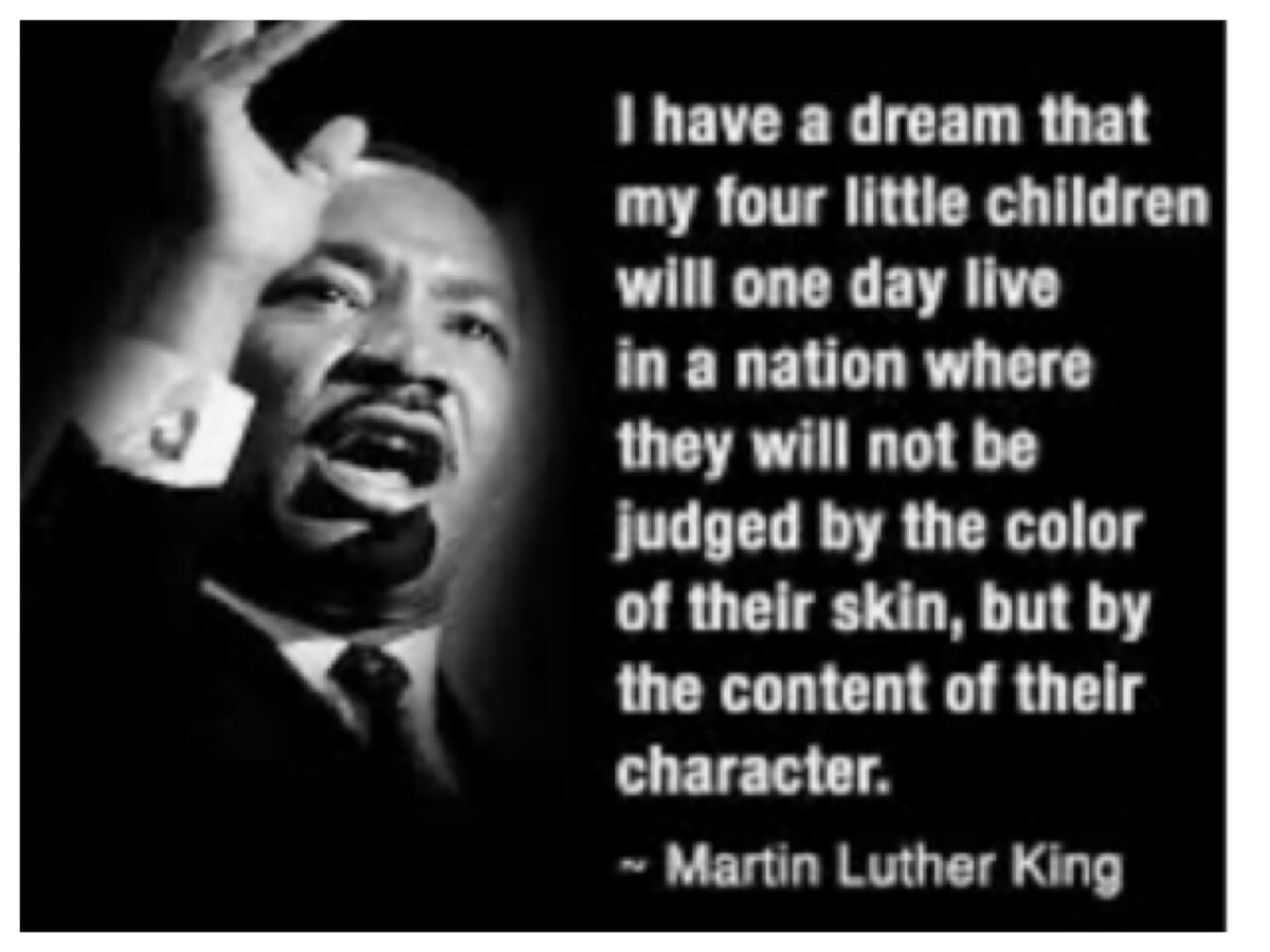 #MLK #DrMartinLutherKingJr so many years later still fight the same fight! #weshallovercome