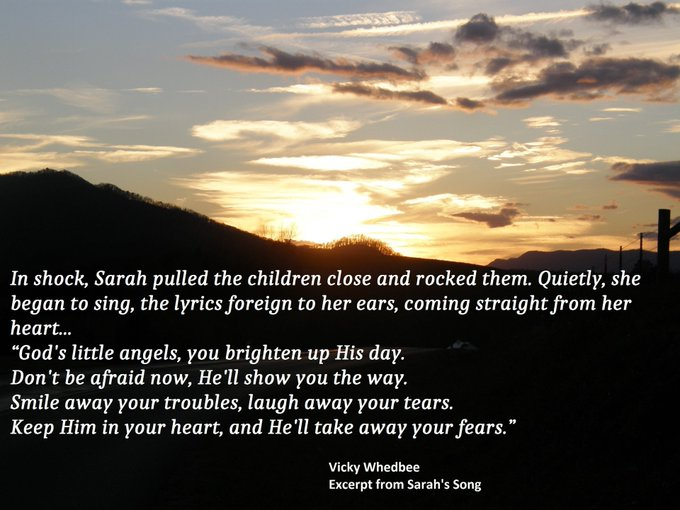 A heart-warming romance! @vicky_whedbee Sarah's Song and it's sequel, Sarah's Home, are available now on Amazon in ebook, paper book, KindleUnlimited now! Get your copy today!    #Reading #writingcommunity  #histfic #IARTG #RomanceSG