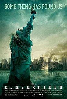 #ThisDayInFandomHistory – Cloverfield is an American monster film directed by Matt Reeves, produced by J.J. Abrams, and written by Drew Goddard. The film was released on this day in 2008. #OnThisDay #Cloverfield