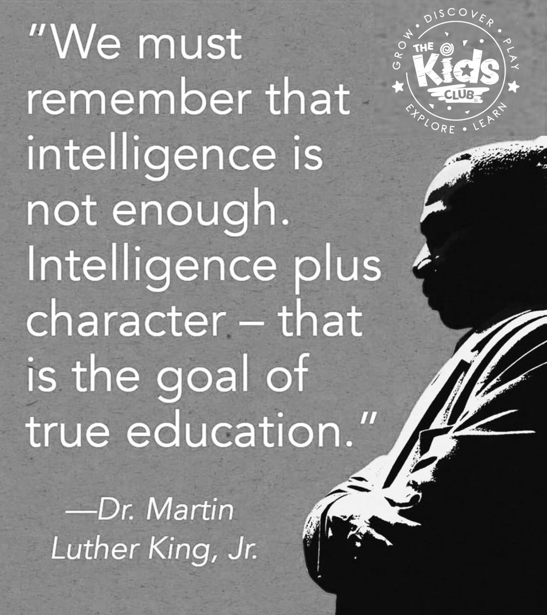 Education and character are the 🔑!  Happy Martin Luther King Jr. Day.  ☮️❤️#dream #dreams #statenislandny #martinlutherkingday #january #remember #love #life #peace #play #faith #joy #happy #friends #friendship #friend #freedom #together #character #happyplace #hope #brotherhood