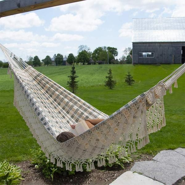 Brazilian hammocks provides supreme comfort and relaxation!🌴 Discover Effortlessly relax in this airy, breathable 100% authentic luxury Brazilian cotton hammocks👉 https://t.co/Y3J2G2fL2z  #Hammock #HammockTown #Brazilian #Relaxation #Monday https://t.co/sDbabr4ocG