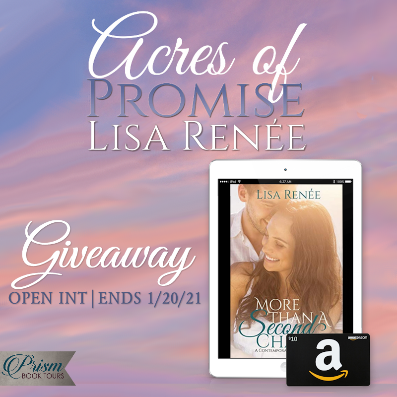 @Jasmineflower88 shares an excerpt from #AcresofPromise by @lisareneeauthor + ebook/Amazon #giftcard #giveaway! #SingleAgainSeries #LisaRenee #PrismBookTours #christianromance #sweetromance #romancebooks #bookstoread #amreading #newbook #reading #booktour