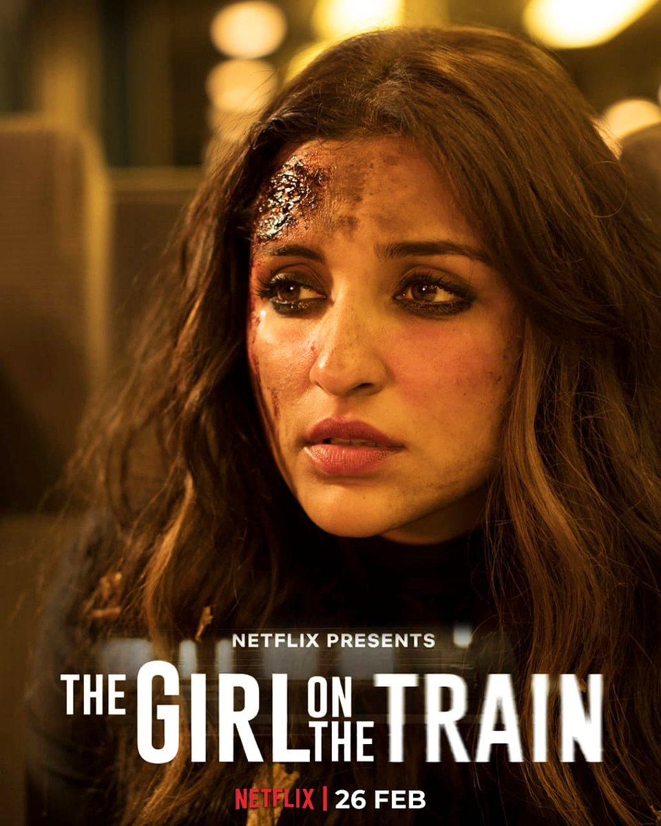 Join us on a journey that you won't forget for a long time. #TGOTT premieres 26th Feb, only on Netflix. ________________________________ @ParineetiChopra @RelianceEnt @NetflixIndia #TheGirlOnTheTrain #parineetichopra