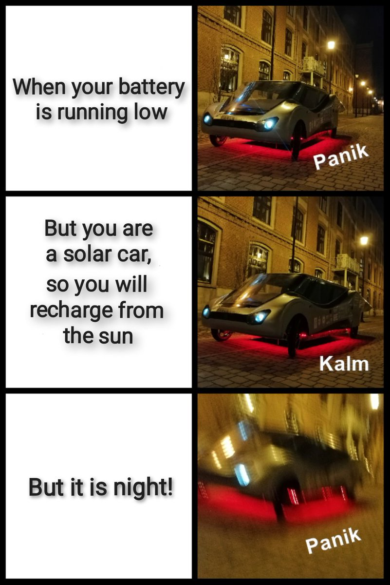 #Today we have something for #everyone who is busy to improve their #mood. 🤩🤪  Have a nice day! ❤️   @p_lodz_pl #eco #solar #car #green #energy #GreenEnergy #mem #memes #meme #project #funny #happytuesday #tuesdayvibe #team