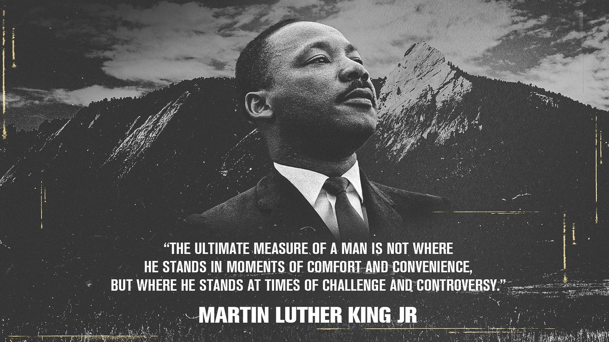 Today and every day, we remember and honor the life and legacy of Martin Luther King Jr.  #MLKDay