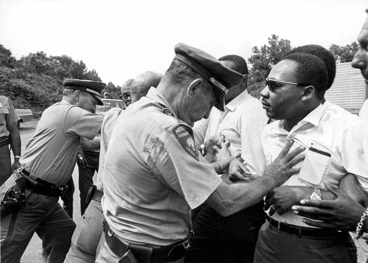 We should not forget that #MartinLutherKingJr would likely be a #BlackLivesMatter peaceful protester today. If he were still here, he would likely be hated with the same vigor that led to him being murdered in 1968. I wish White America loved him [us] just as much alive. #MLKDay