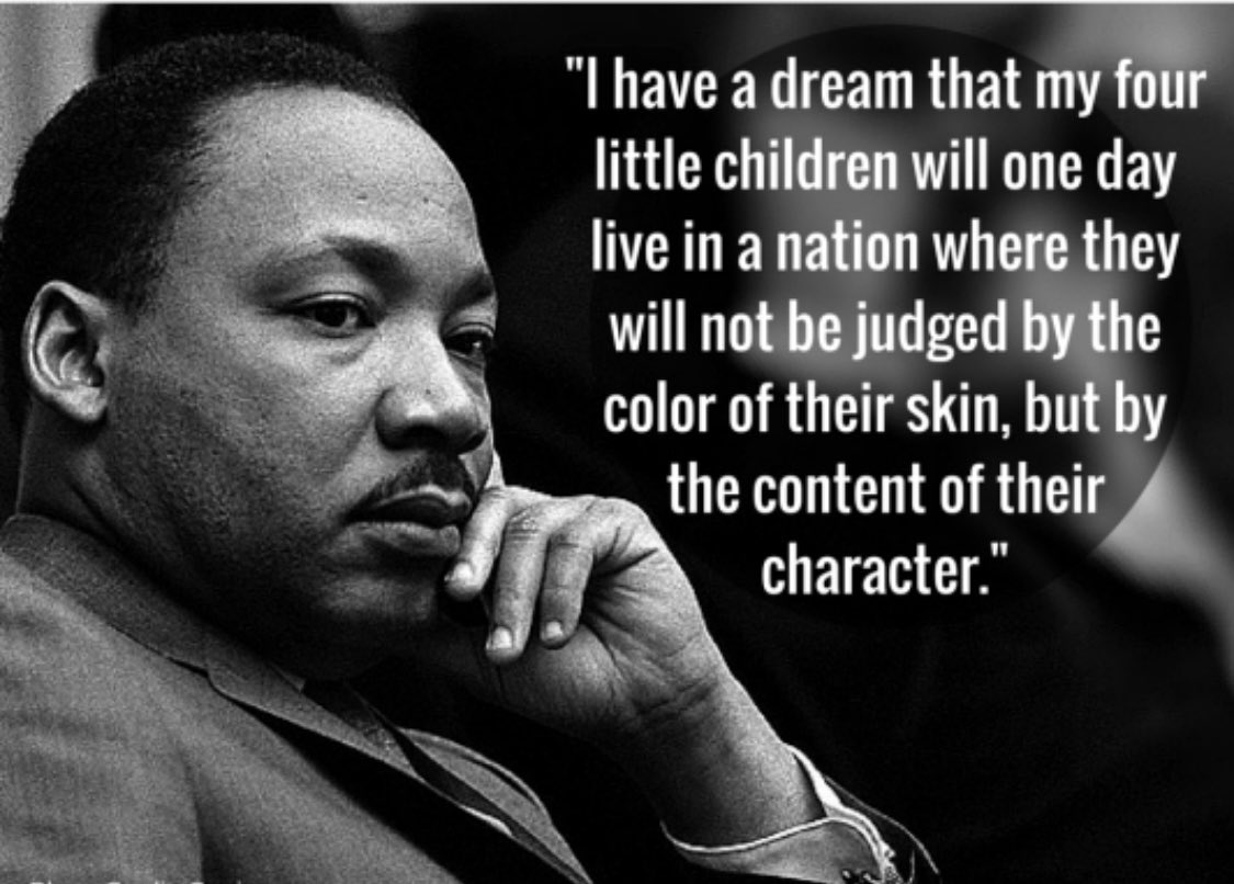 In honor of the life and legacy of Dr. Martin Luther King, Jr. #MLKDay