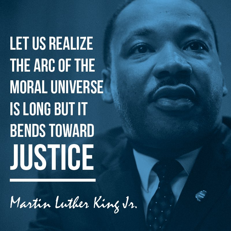 Today we look back on his life and the work he had done in pursuit of justice. Let us honor the legacy of Dr. King today and everyday by doing our part to keep pushing for justice and equality in our communities. #MLKDay #DayOfService