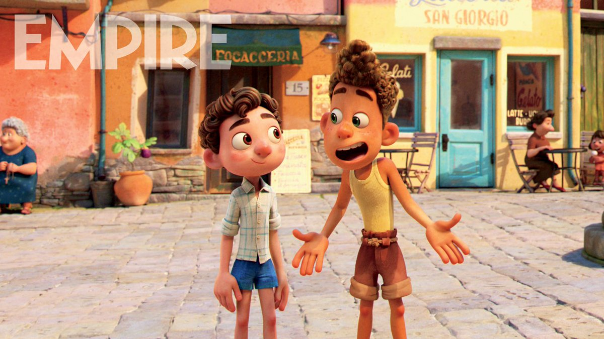 A new look at Pixar's 'LUCA' has been released.  (Source: @empiremagazine)