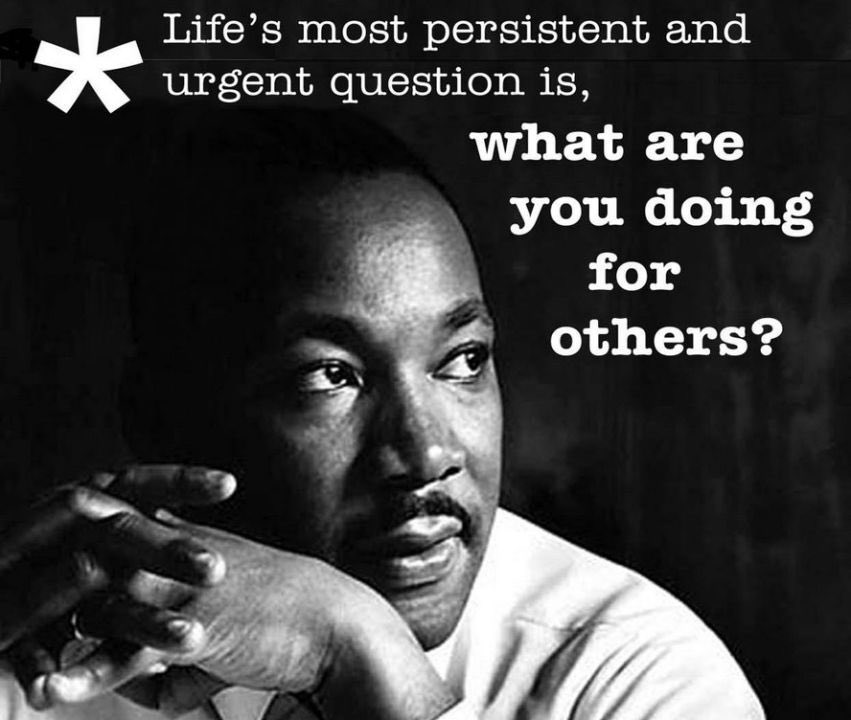 """Oh how we have a need for him today...  """"Hate cannot drive out hate; only love can do that."""" #MLKDay"""