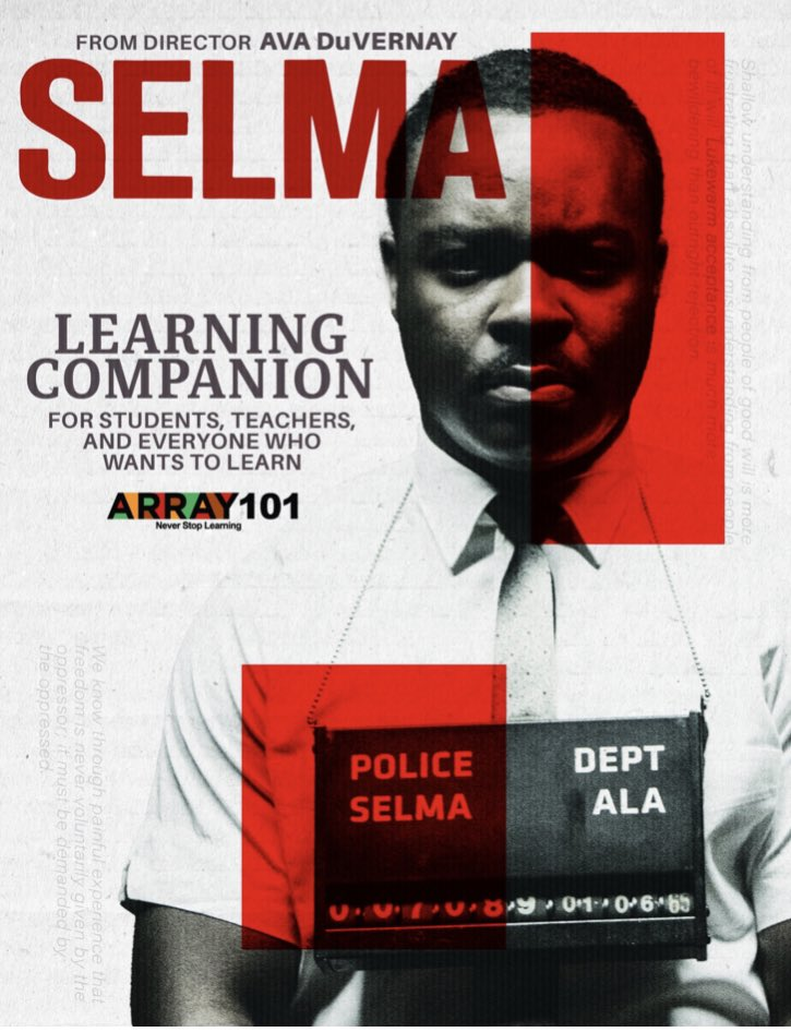 In  you can dig deeper and learn more about the impact of Ava DuVernay's film, SELMA.  #MLKDay