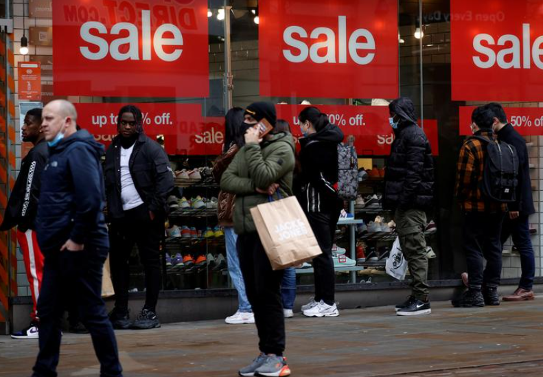 via Reuters UK: UK shopper numbers down 10.9% last week as lockdowns bite -  #retailnews #UKeconomy #lockdown #copingwithcovid