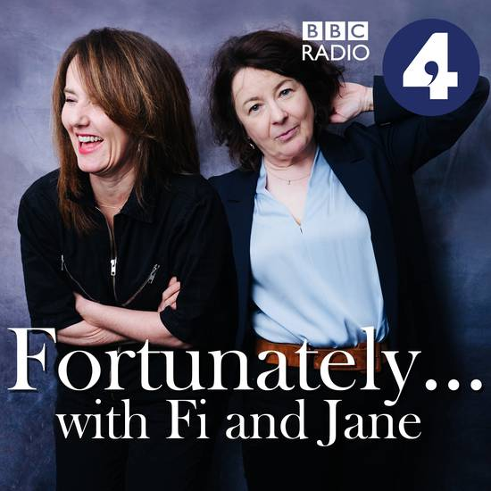 The latest installment of Fortunately with Fi and Jane is trending on the  UK charts today  @fifiglover + @janegarvey1 are joined by the delightful @Fearnecotton   Close the laptop, put the headphones in and give it a listen, you've earned it  #podicon