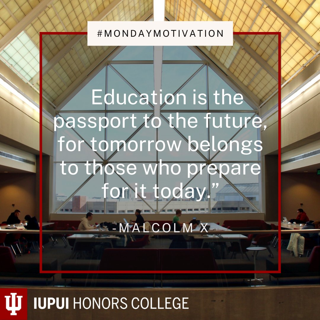 Happy Monday Jags! Here is some #MondayMotivation to help you get started with the first week of Spring 2021 Classes✨ #IUPUIHonors