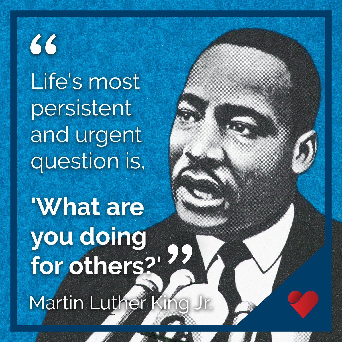 Today we honor and thank Martin Luther King Jr. for inspiring future generations to lead with their hearts, serve others, and follow their dreams. #MLKDay
