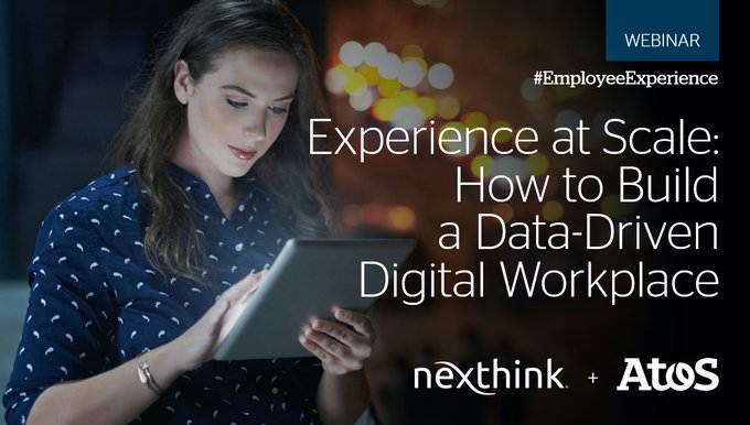 Join @CMSWire and @_jamesmcmahon Head of Digital Workplace at Atos, sharing key strategies,...