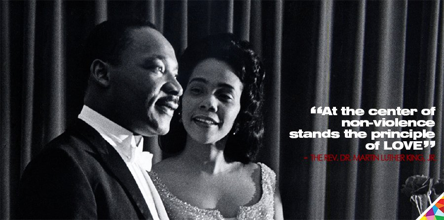 Honoring a great man+legacy. A powerful, much-needed reminder at the start of a symbolic week.  #Equality #Unity #Love #MondayMotivation #MondayThoughts #CorettaScottKing #MartinLutherKing  #MLKDay #MLKDay2021